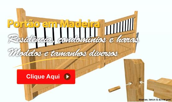 Portão em Madeira thumbnail