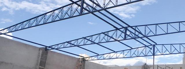 Estrutura Metálica Industrial - Rides