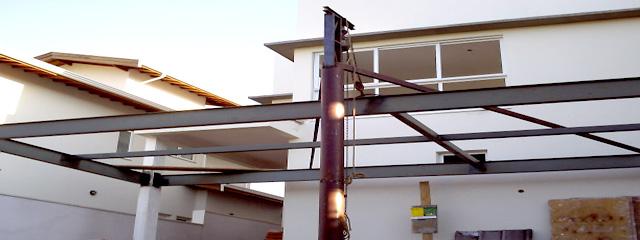 Estrutura Metálica Residencial - Rides