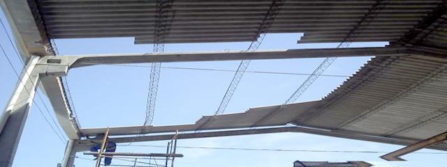 Manutenção Telhado Industrial - Rides